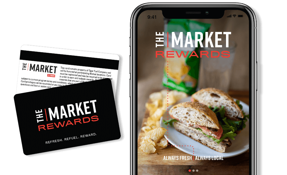 the market by thrive phone - Home